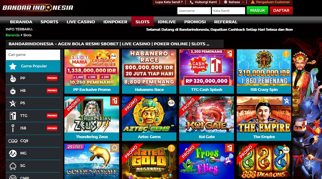 Game Casino Online Paling Populer Saat Ini